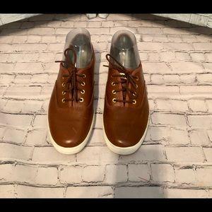 NWOB! Keds Ortholite Leather Laceup Size 8